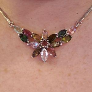 Jewelry - Multicolored Tourmaline necklace